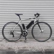 Hızlı ve hafif bir elektrikli bisiklet 700C Triban 100FB